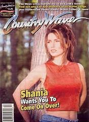 Country Wave cover with Shania
