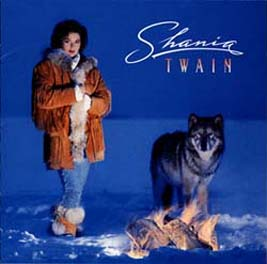 Shania Twain Album Cover